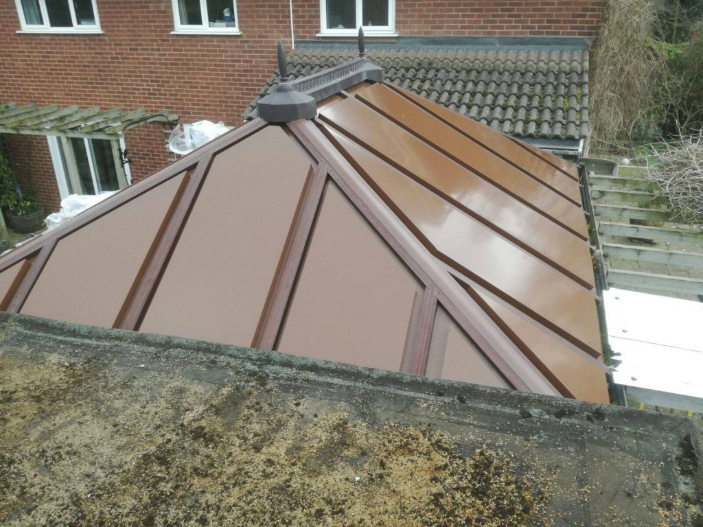 Replacement conservatory roof in Shrewsbury