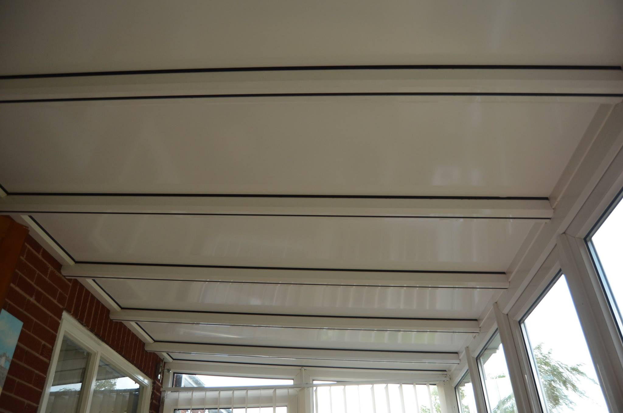 Cheshire new aluminium lean-to roof - Superior Conservatory Panels