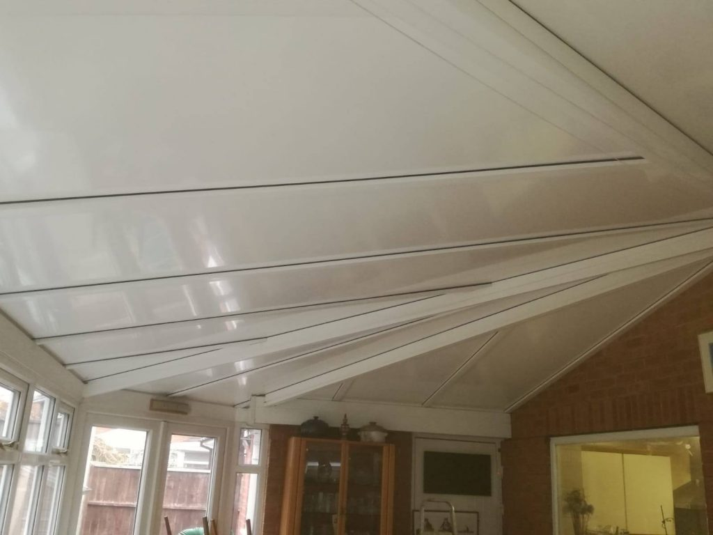 white Thermotec roof panels