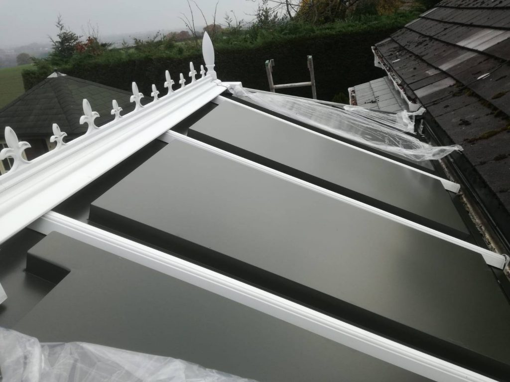 White And Grey Conservatory Roof Superior Conservatory