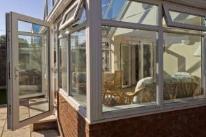 keeping a conservatory cool with open windows