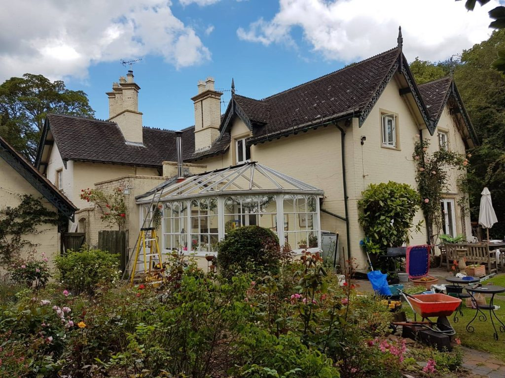 timber conservatory roof replacement