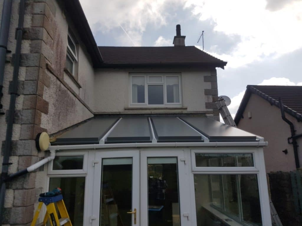 New conservatory roof in Ulverston