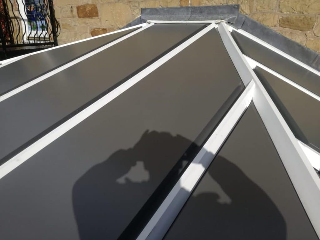 New Thermotec roof in Llangollen