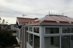 Replacement conservatory roof in Deeside