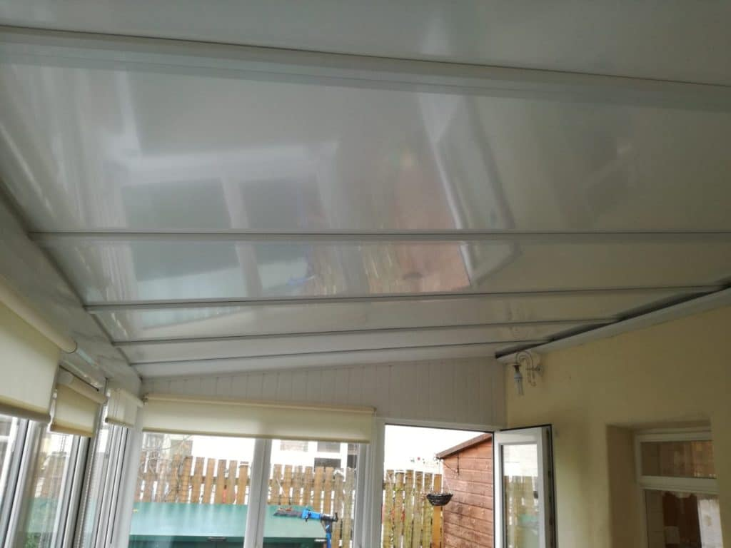 new conservatory roof in Arnside