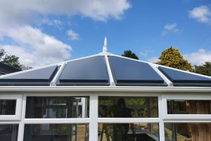 coloured conservatory roofs