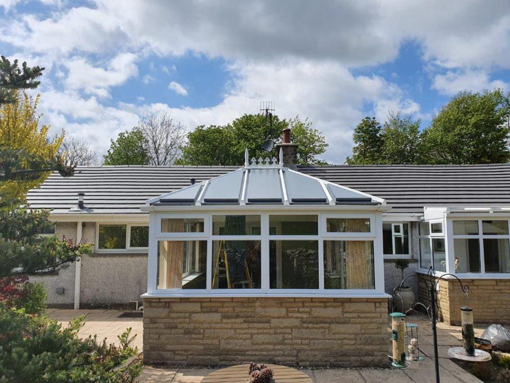 refurbishing a conservatory