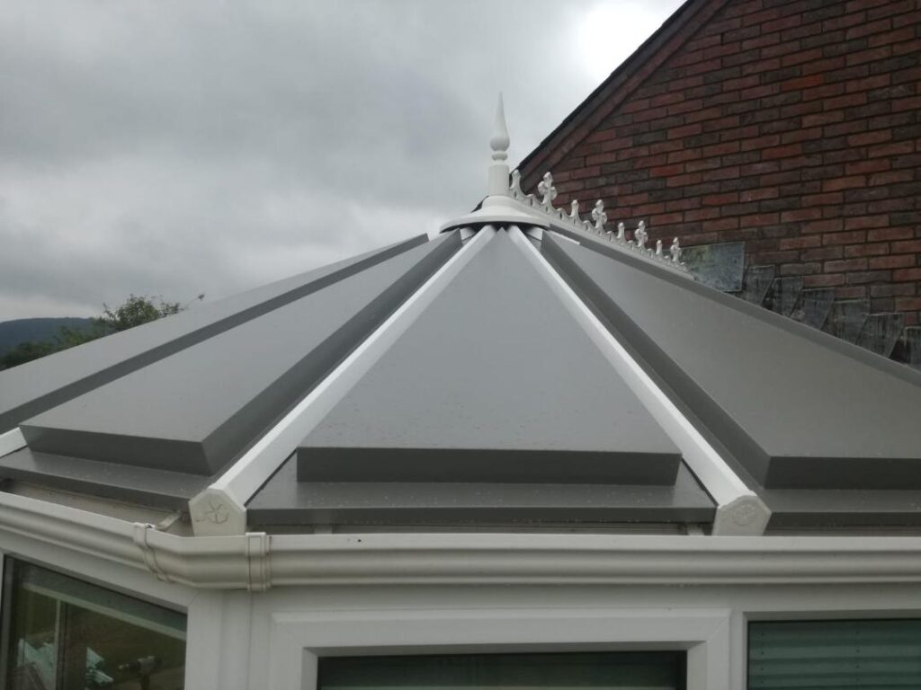 Conservatory roof replacement in Powys
